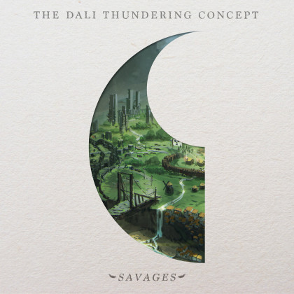 The Dali Thunderig Concept - 'Savages' album art